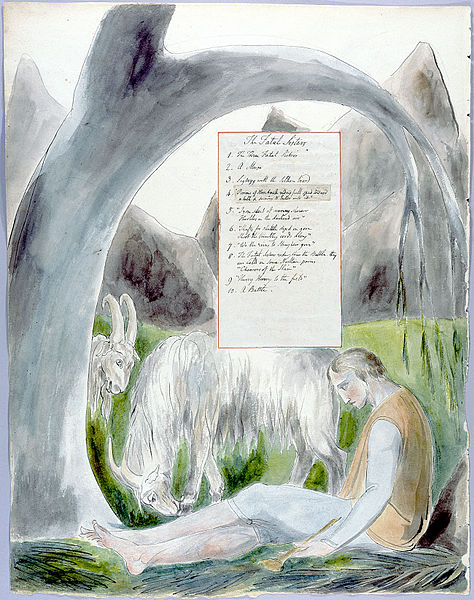 474px-William Blake - The Poems of Thomas Gray, Design 66 The Bard 14.jpg
