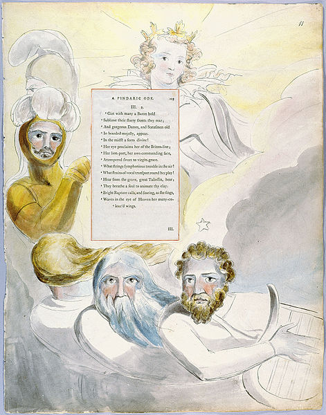 Файл:William Blake - The Poems of Thomas Gray, Design 63 The Bard 11.jpg